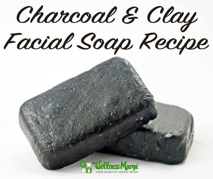 Charcoal and Clay Facial Soap Recipe