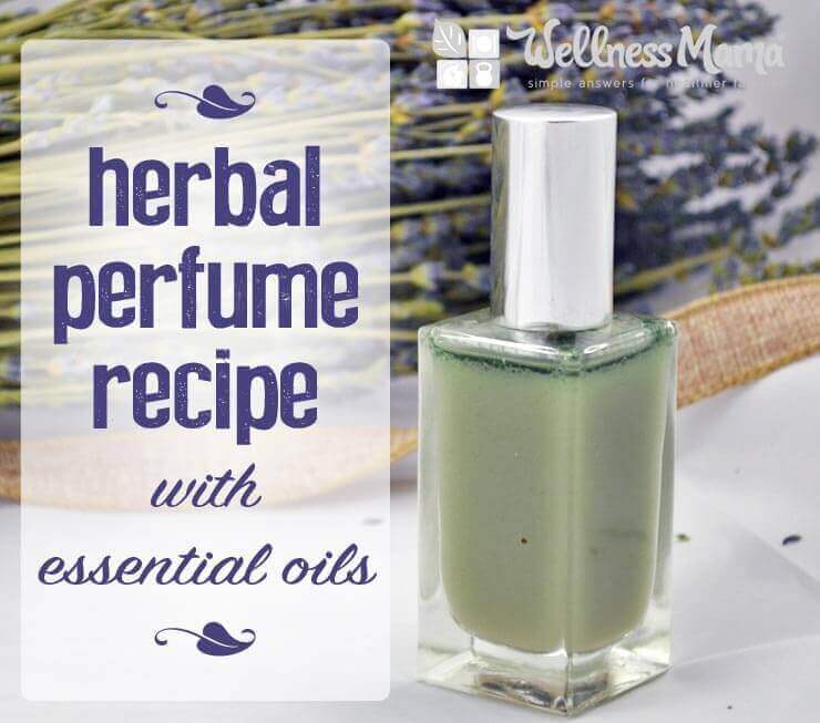 Herbal Perfume Recipe with Essential Oils