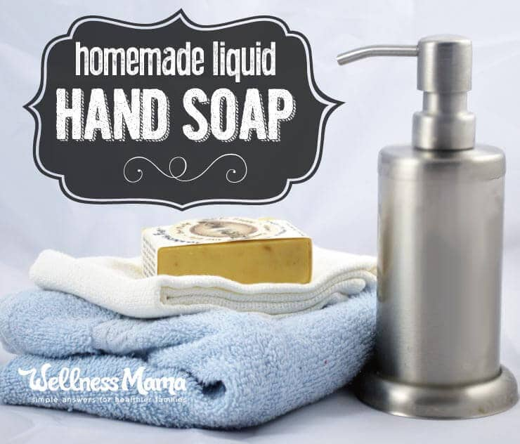 Homemade Liquid Hand Soap