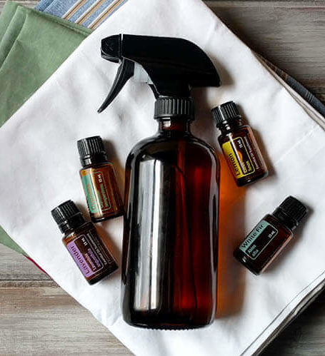 How to make a refreshing natural linen spray