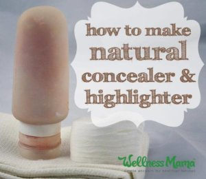 How to make natural concealer and highlighter
