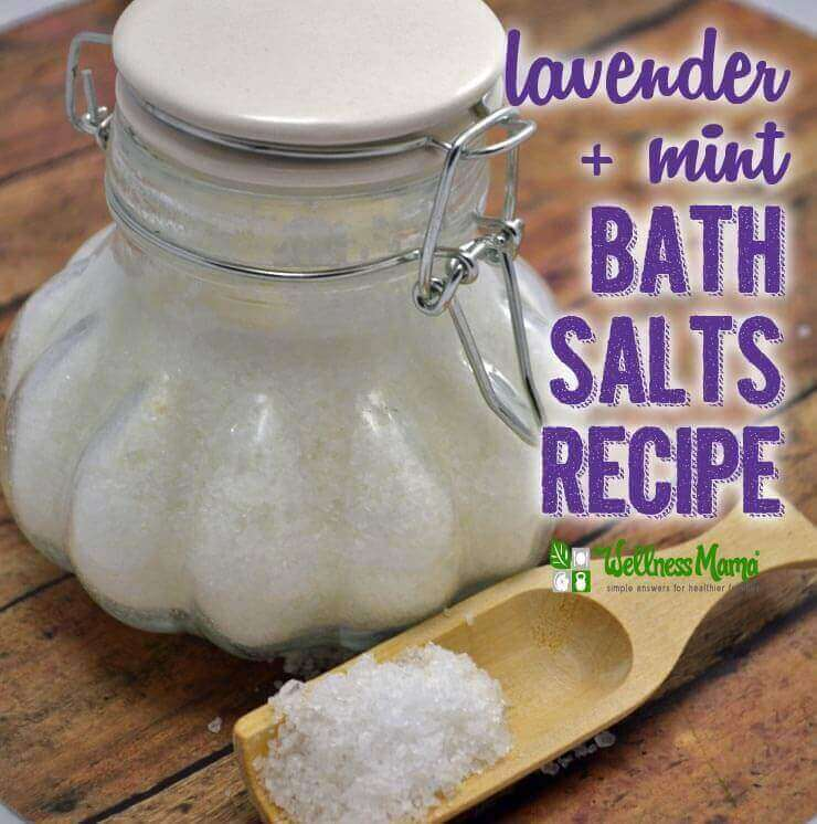 Lavender Mint Bath Salts Recipe