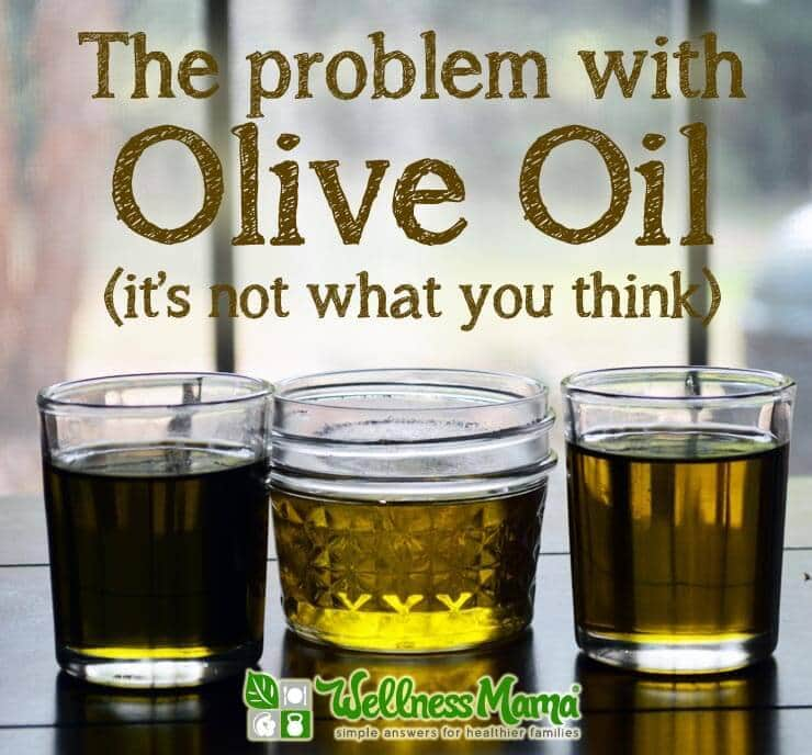 The problem with olive oil- it<img loading=