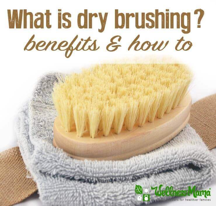 What is dry brushing- benefits and how to