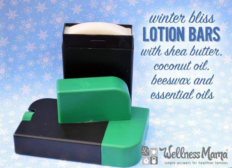Winter Bliss Lotion Bars Recipe