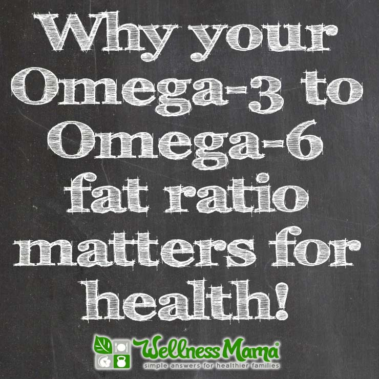 The importance of your Omega-6 to Omega-3 ratio