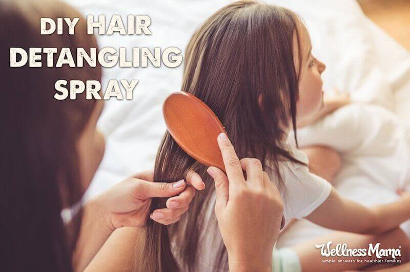 DIY Hair Detangling Spray